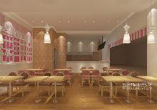 Pearl Waffle玻尔松饼连锁餐厅设计惠州永旺店